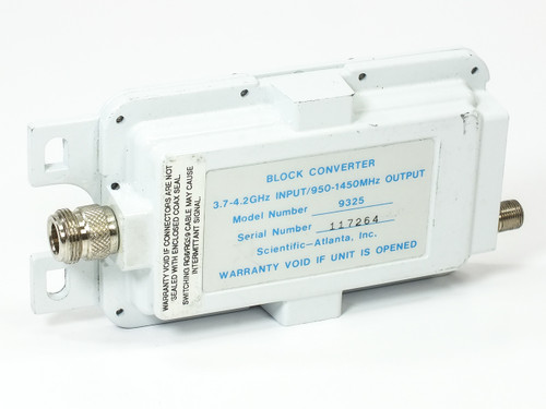 Scientific Atlanta 9325 Block Converter 3.7~4.2 GHz to 950~150 HMz - Satellite