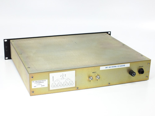 I.F. Engineering MC-1200-2x32-F/B-UG 2-Channel 32-Port Distribution Box 2U