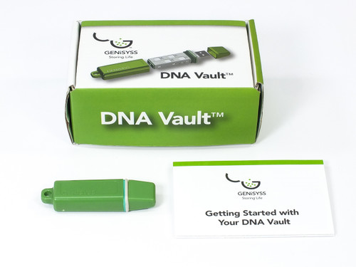 Genisyss Personal 4/16 DNA Life Medical Records Genealogy USB Storage Vault