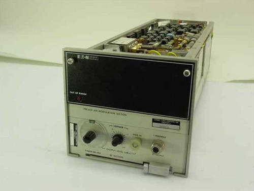 Eaton AM Modulation Section PM3601