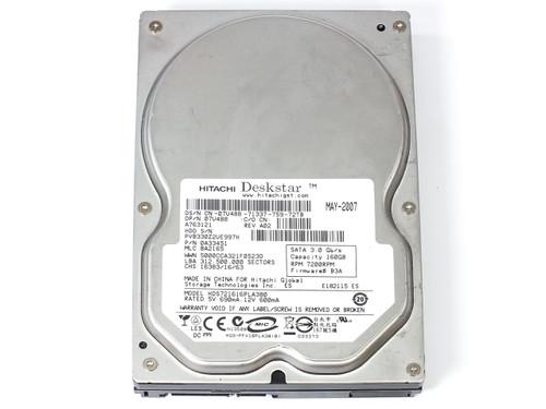 "Hitachi 0A33451 160GB 3.5"" Deskstar 7200 RPM SATA Internal Hard Drive"