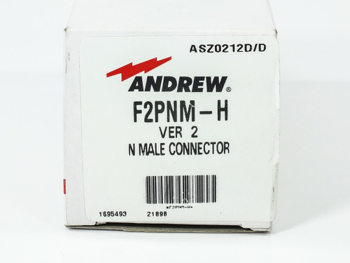 Andrew F2PNM-H N-Male Connector Kit for RF Signal Path Hex Nut Solder Center