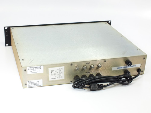 I.F. Engineering MC-1200-4X32-F/B 32-Port Distribution Box w/ (2) AAK CM244