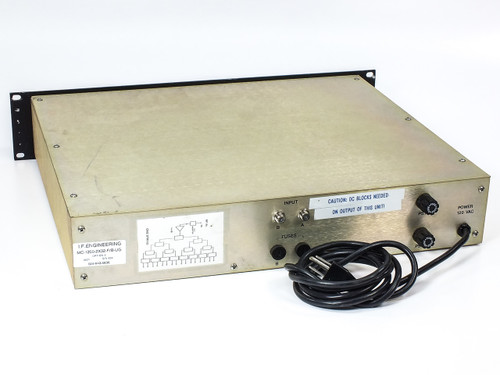 I.F. Engineering MC-1200-2X32-F/B-UG 32-Port Distribution Box w/ (2) AAK CM242