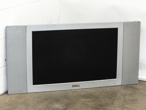 "Dell W3000 30"" LCD TV HD Monitor/Screen DVI VGA RCA S-Video F3166 -No Remote"