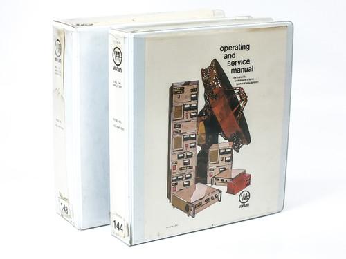 Varian VZC-6967D8A2/D8T6 Dual TWT Amplifier Subsystem Operating & Service Manual