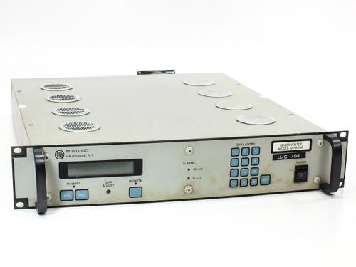 Miteq U-9352/32131 C-Band Upconverter Frequency 6 GHz / 70 MHz - RF Satcom
