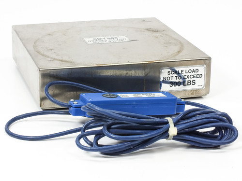 SPAN GCS-305 Gas Cylinder Scale 300 LBS SAM-305 Amplifier - No Terminal AS-IS