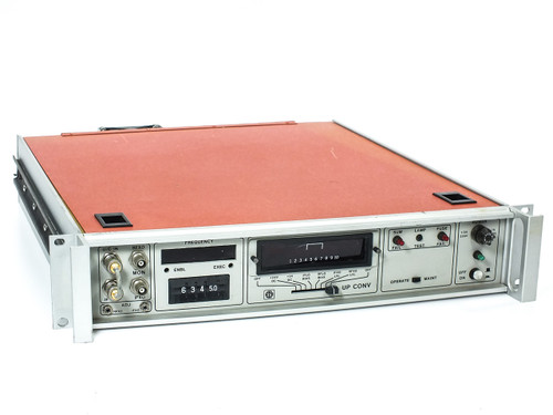 "STS Inc Statcom 19"" Rackmount 2U Satellite Upconverter - Microwave / RF"