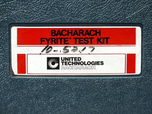 Bacharach 10-5217 Fyrite Gas Burner Combustion Test Kit - Standard - As Is