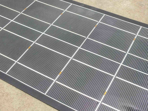 Solopower SFX1-35 35W 12V 5' Thin CIGS Solar Panel BIPV with SolarLok Clips
