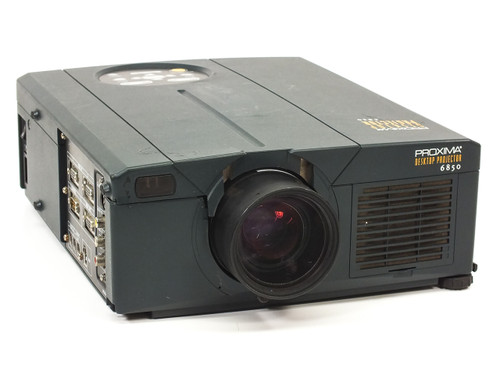 Proxima DP6850 Desktop LCD Projector 1024x768 4:3 - Cracked Plastic - As Is