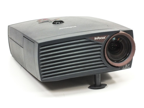 InFocus LP400 4:3 Digital Multimedia Projector DLP 800x600 SVGA 700 Lum RCA
