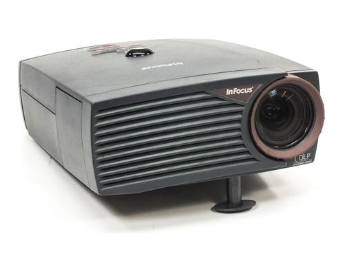 InFocus LP400 4:3 Digital Multimedia Projector DLP 800x600 SVGA 700 Lum RCA