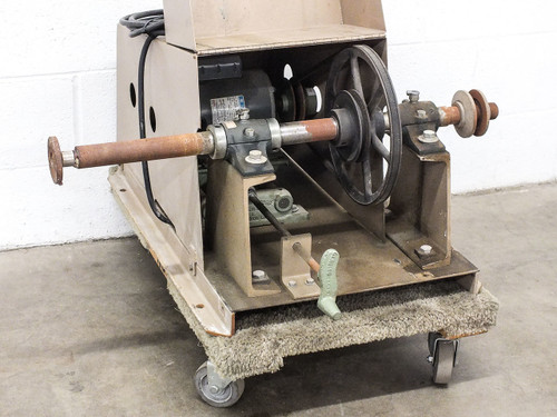 Sommer and Maca Glass Lathe / Bull Wheel Grinder 115/230 Volt 1/2HP (21-VS)