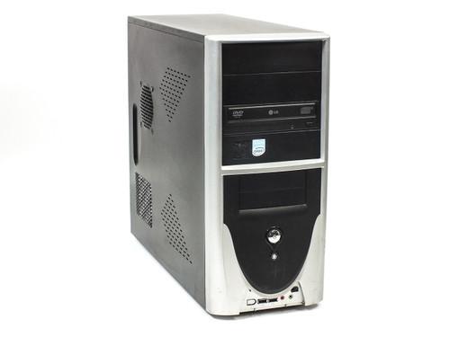 Desktop PC Computer Intel Celeron D 2.53 GHz 256MB RAM 80GB HDD CD-RW/DVD-ROM