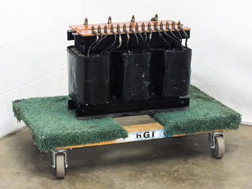 Comptech 100782 Transformer from 10KW RF Generator PRI:208/240 SEC:46003 3-Phase