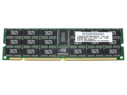 IBM 35H8751 64MB 8M x 72 E 70NS 5.0V ECC DIMM Memory