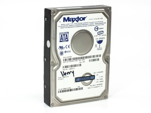 Dell 5F039 160GB 3.5'' SATA Internal Hard Drive - Maxtor E-H011-04-1675