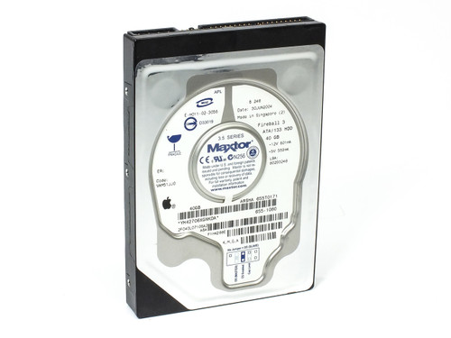 Apple 655-1080 40GB IDE Slimline Hard Drive - Maxtor Fireball 3 ATA/133 HDD