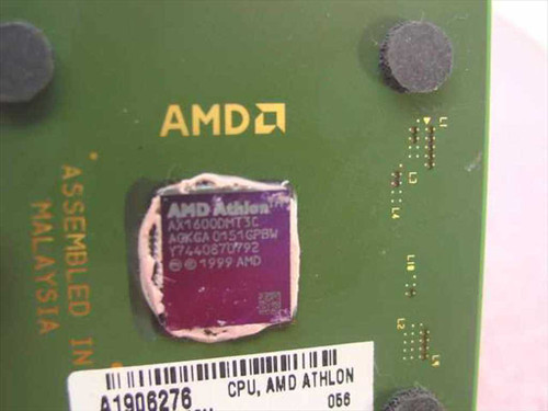 AMD Athlon XP 1600& 1.40GHz/256/266/1.75V (AX1600DMT3C)