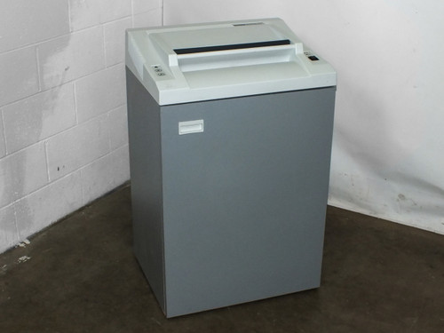 Fellowes PS 480 C Cross Cut Paper Shredder AS-IS - REVERSE NOT WORKING