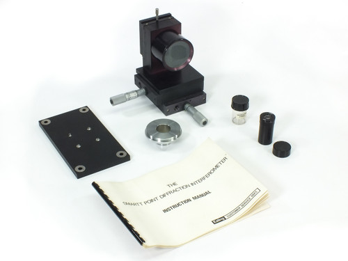 Ealing 25-9218 f/2 Smartt Point Diffraction Interferometer with Case and Manual