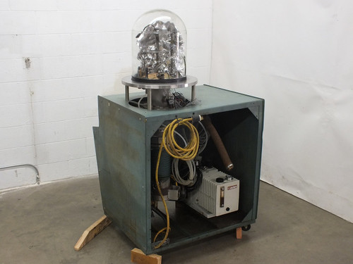 NRC 3114 Sputtering Chamber with Varian SD-700 Vacuum Pump - AS IS