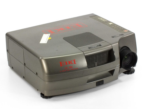 EIKI LC-180 LCD Projector with RCA / BNC-Coax/S-Video Inputs (No Remote) - AS IS