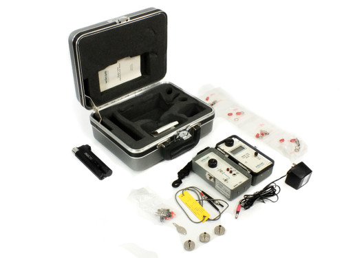 Wilcom T319/T355 Optical Level Meter with Transmitter and Case