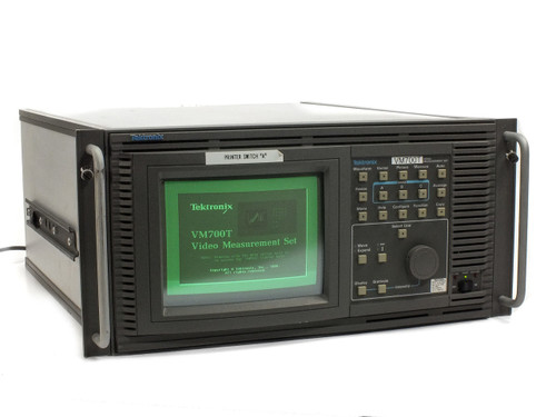 Tektronix VM700T Video Measurement Set with Options 01, 1S, and 40 with Manuals