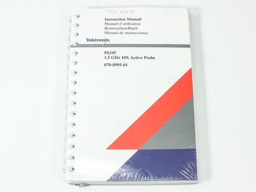 Tektronix 1.5 GHz 10X Active Probe Instruction Manual P6245