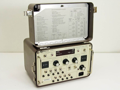 Sierra 418A1 T1 Terminal Line PCM Error Performance Analyzer QRW Generator