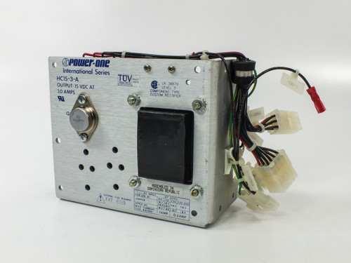 Power-One HC15-3-A International Series Power Supply - Output: 15VDC at 3.0AMPS