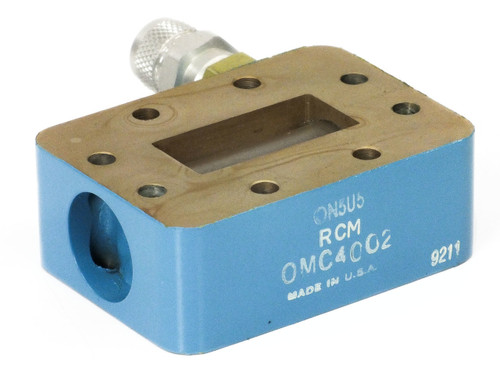 RCM OMC4002 C-Band / WR137 Waveguide Pressure Window - UN5U5 5.85 ~ 8.20GHz