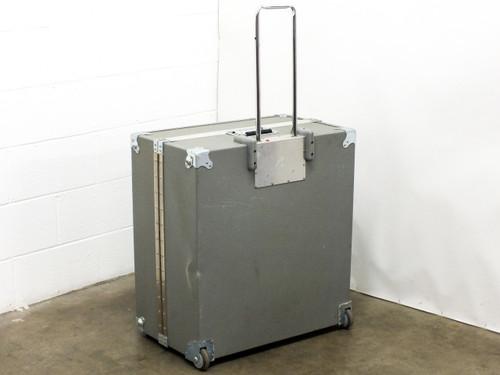 "Penn Fabrication 25"" x 24"" x 13"" Hard Travel Case with Wheels"
