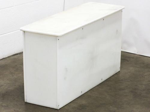 Bradley Corp. Lenox Three-Door Plastic Storage Locker Bench