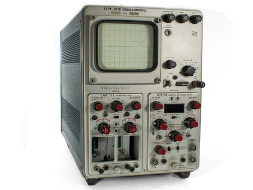 Tektronix 561B Oscilloscope with Type 352 Sampling & 3T2 Random Sweep - AS IS
