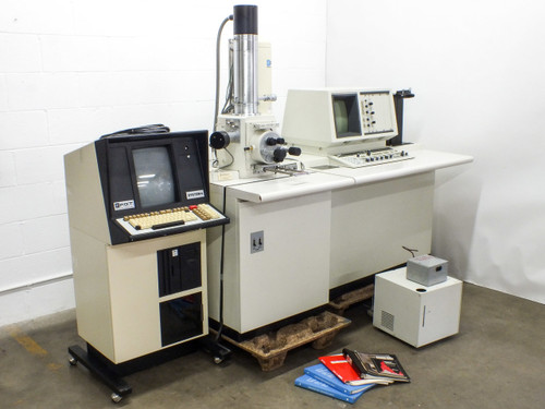 Hitachi S-570 Scanning Electron Microscope PGT Energy Dispersive Spectrometer