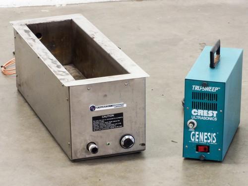 Crest 4G-500-6 Genesis Ultrasonic Generator 3.5Gal 13.4L w HEATED Tank 50-26-235