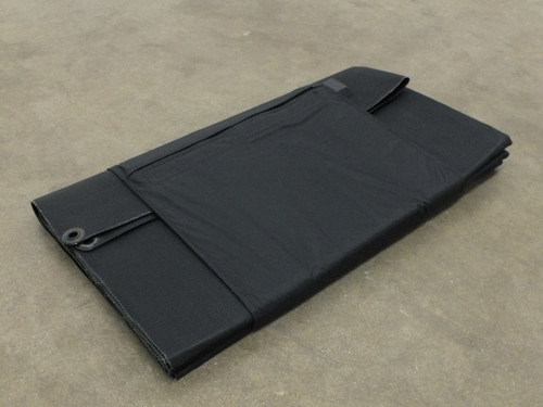 Global Solar 22042A 42W Foldable 12V CIGS Military Solar Panel w/ETFE - Black