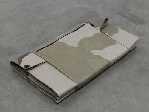 Global Solar 42W 24V Foldable CIGS Powerflex Military Desert Camo Solar Panel