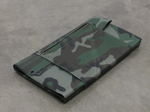 Global Solar 42W P3 24V Foldable CIGS Military Woodland Camo Solar Panel w/ETFE