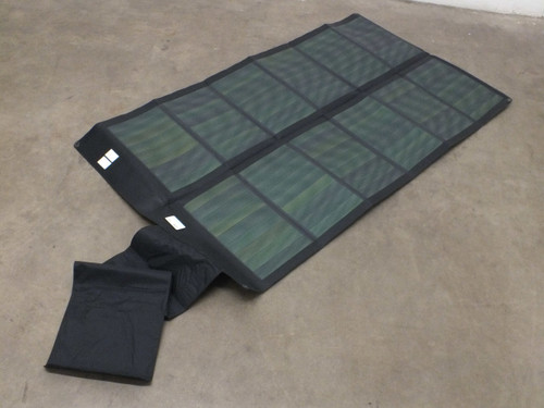 Global Solar 42 Watt Powerflex 24V Foldable CIGS Solar Panel w/ETFE - Black