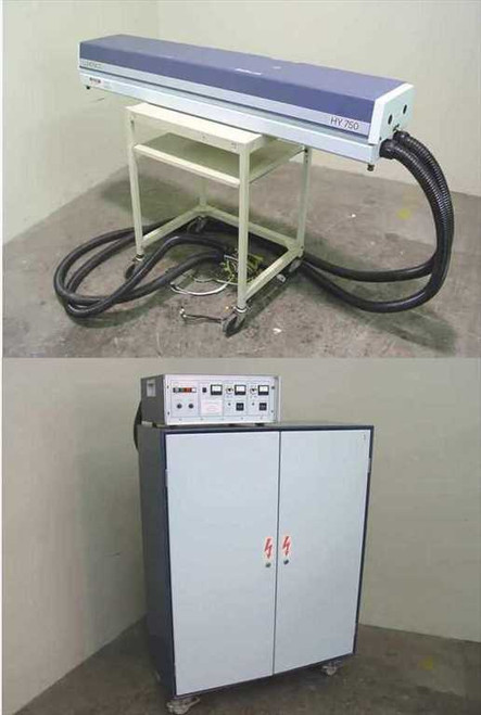 Lumonics HY750 YAG Laser & 3.7KW 4.5KVA Power Supply - As Is