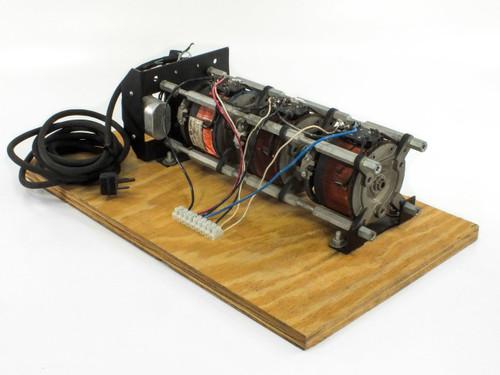 GE 9T92A6G51 3-Phase Motorized Variac PRI: 240 SEC: 0~240/280 AC