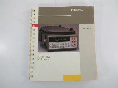 HP 34401-90003 34401A Multimeter User's Guide