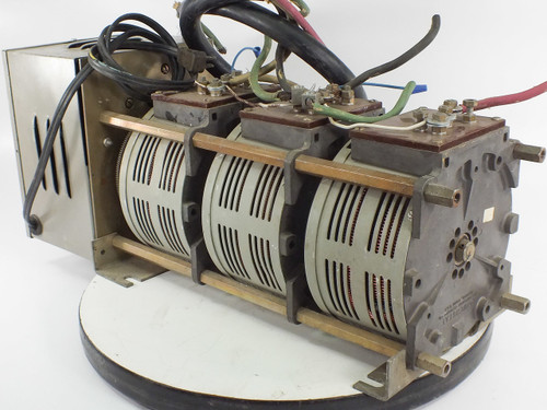 Powerstat 136-1033 MB 20A 208V 3P Variac Motor Operated Variable Autotransformer