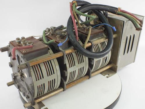 Powerstat 136-1033 MB 20A 208V 3P Variac Motor Operated Variable Autotransformer
