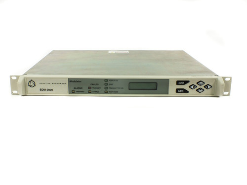 Adaptive Broadband SDM-2020M Satellite Modulator SW v8.1.3 with EIA Interface.